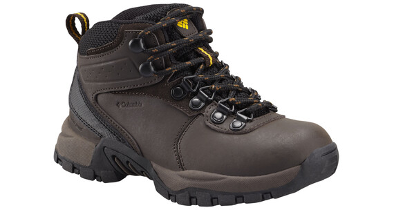 Columbia Newton Ridge Waterproof Shoes Youth cordovan